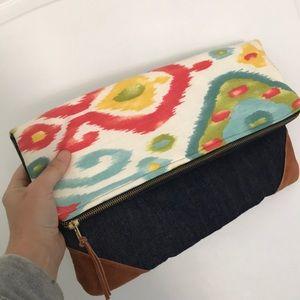 Handbags - Oversized fold over clutch purse
